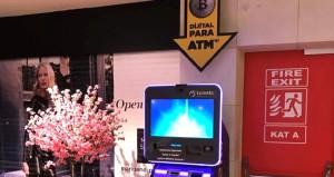 Türkiye'nin ilk Bitcoin ATM'si hizmete girdi