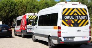 Ülke genelinde denetim yapıldı, 599 okul servisi trafikten men edildi