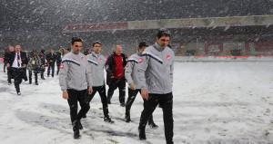 Boluspor-Galatasaray maçına kar engeli!