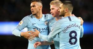 Manchester Cityden evinde rahat galibiyet: 3-0