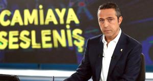 Ali Koç canlı yayında sarı-lacivertli futbolcuları yerin dibine soktu