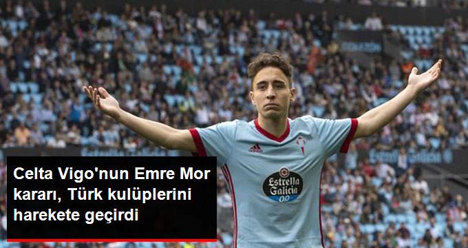 Celta Vigo nun Emre Mor kararı, Türk kulüplerini harekete geçirdi