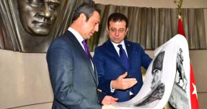 İmamoğlu, Fenerbahçe Başkanı Ali Koçu ziyaret etti