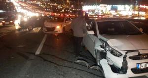 İstanbul'da korkutan kaza! Çok sayıda yaralı var