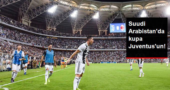 Suudi Arabistan da kupa Juventus un!