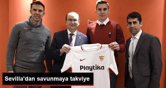 Sevilla dan savunmaya takviye