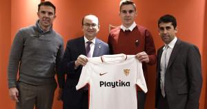 Sevilladan savunmaya takviye