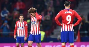 Atletico Madrid, Kral Kupasında çakıldı