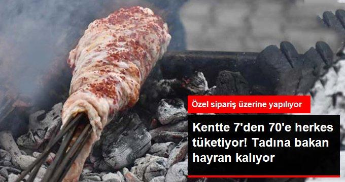Diyarbakır'da Yapılan Perde Ciğeri, 7'den 70'e Herkes Tarafından Tüketiliyor