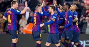 Levanteyi deviren Barcelona, Kral Kupasında çeyrek finalde