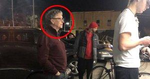 Microsoft kurucusu Bill Gatesi bu kuyrukta görenler şoke oldu!