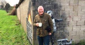 Ünlü sanatçının garaj duvarına yaptığı resim, mülk sahibini zengin etti