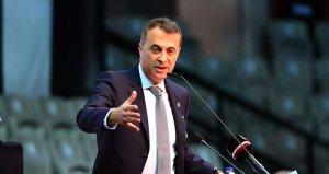 Beşiktaş Başkanı Fikret Ormandan Galatasarayaa gönderme!