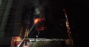 Dondurma fabrikasında korkutan yangın! İşçiler tahliye edildi