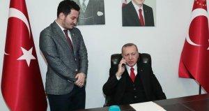Erdoğan'dan genç doktora büyük jest!