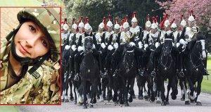 Kraliyet alayında şok! 25 yaşındaki kadın asker, komutanını taciz etti