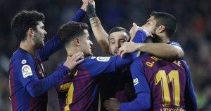Barça, evinde Leganesi geçerek puan farkını korudu