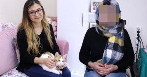 Evlerinde besledikleri kedi, iki kadının hayatını kararttı