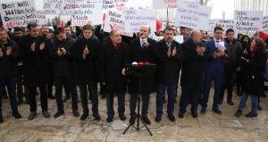 Atanamayan öğretmenler Ankara'da eylem yaptı