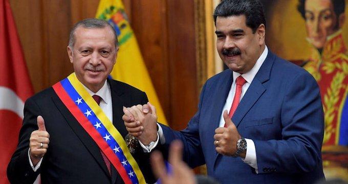 Cumhurbaşkanı Erdoğan, Trump'ın hedefindeki Maduro ile görüştü