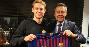 Geleceğe yatırım! Barça, Ajaxta fırtınalar yaratan genci kaptı