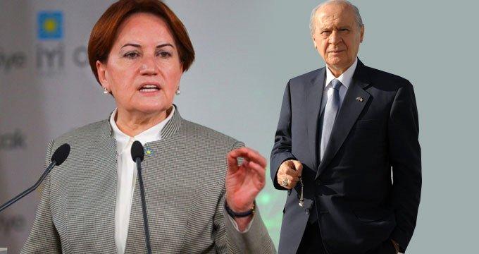 MHP'nin seçim anketinde Akşener'e büyük şok