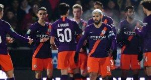 Burton Albionu deviren Manchester City, kupada finale yükseldi