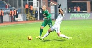 Çaykur Rizesporun yeni transferi Aatif, 4,5 ay sonra sahaya çıktı
