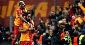 Galatasaraylı Luyindama, Avrupa'da haftanın 11'ine girdi