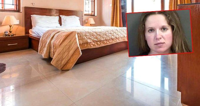 Kadın öğretmen, 15 yaşındaki öğrencisiyle yatak odasında yakalandı!
