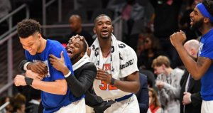 Knicks, 18 maç sonra laneti bozdu