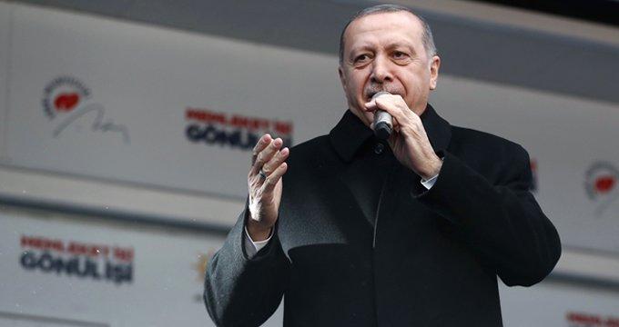 """Erdoğan, """"30 yıllık beklenti sona eriyor"""" diyerek müjdeyi verdi"""