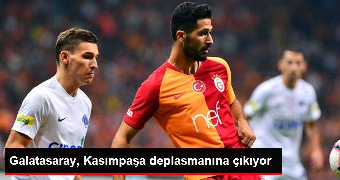 Galatasaray, Kasımpaşa deplasmanına çıkıyor