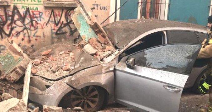 İstanbul'da bina çöktü! Çok sayıda ekip sevk edildi
