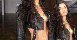 Eski Victoria Secret meleği, cesur kıyafetiyle sınırları zorladı!