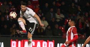Galatasarayın rakibi Benfica, ligde farklı kazandı