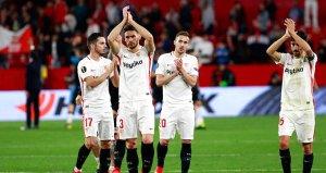 Sevilla, Lazioyu geçip son 16ya kaldı!