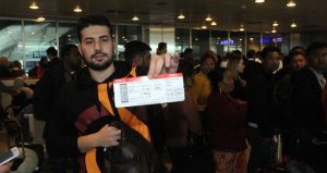 Maçı kaçıracak olan Galatasaraylı taraftarların yardımına THY yetişti