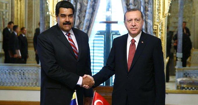 Maduro'dan dikkat çeken Türkiye talimatı!