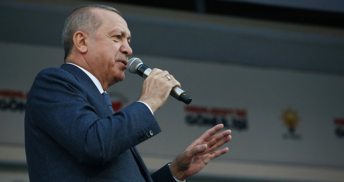 Muhalefete yüklenen Erdoğan'dan Millet İttifakı gafı