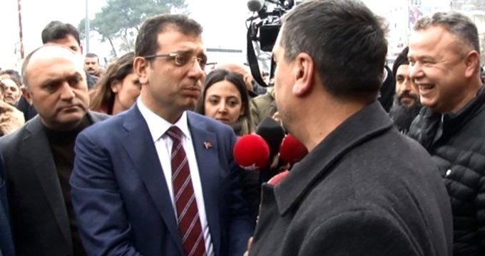 Vatandaş, Kılıçdaroğlu'nun sözlerini İmamoğlu'na sordu