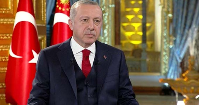 Erdoğan, Ankara'daki seçim yarışıyla ilgili soruya böyle yanıt verdi