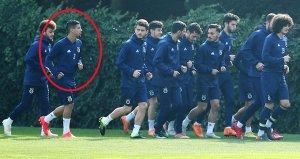 Fenerbahçe antrenmanında sürpriz isim! Herkes kim olduğunu sordu