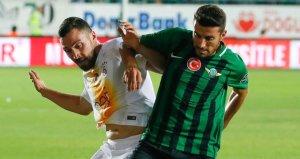Galatasaray ile Akhisar, 14. randevuda