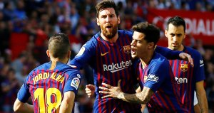 Messi harikalar yarattı, Barça Sevillayı dağıttı!