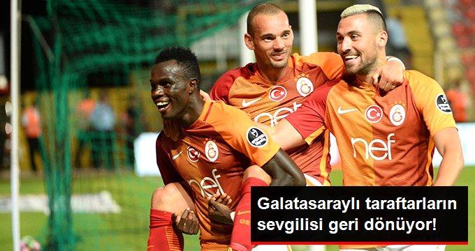 Galatasaraylı taraftarların sevgilisi geri dönüyor!