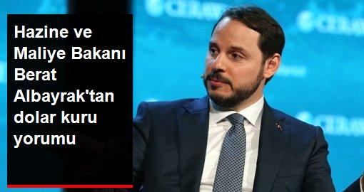 Hazine ve Maliye Bakanı Berat Albayraktan dolar kuru yorumu