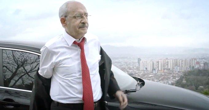Kılıçdaroğlu, ceketini çıkarıp işe koyuluyor! İşte CHP'nin reklam filmi