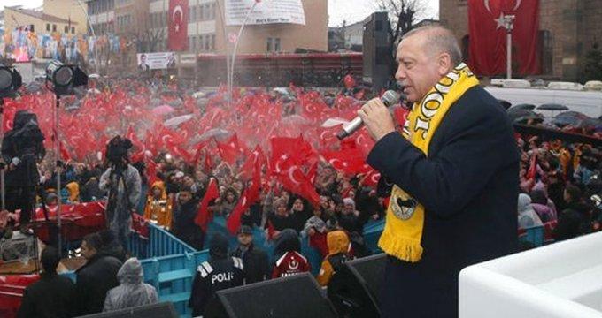"""Erdoğan, """"Bakın neler biliyorum"""" diyerek Muş türküsünü söyledi"""
