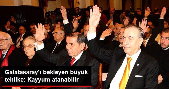 Galatasaray ı bekleyen büyük tehlike: Kayyum atanabilir